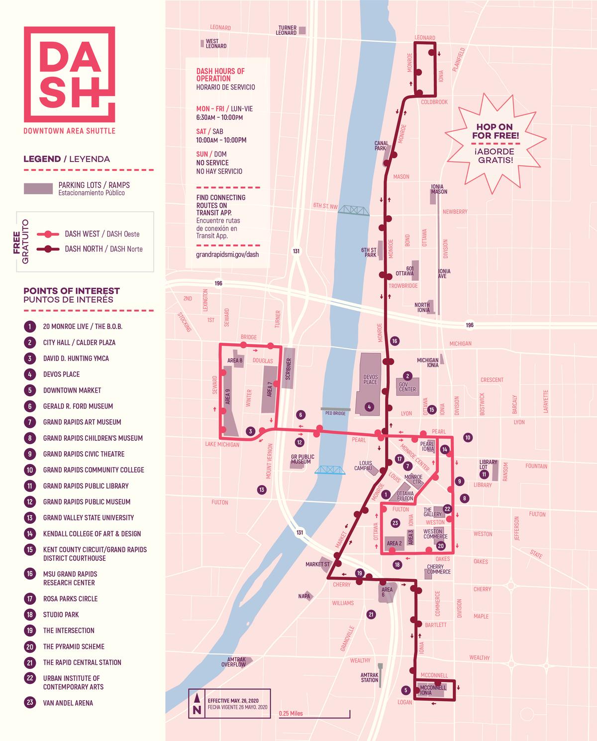 DASH Map 2019