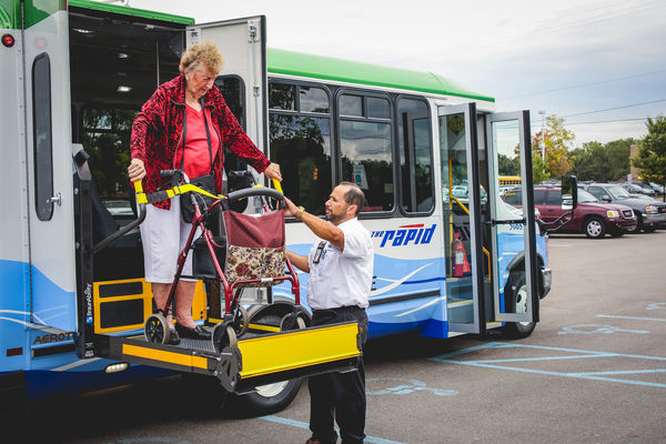 Deboarding the GO!Bus