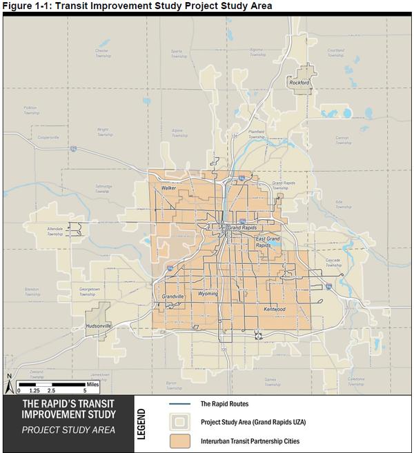 Align Transit Improvement Study Area
