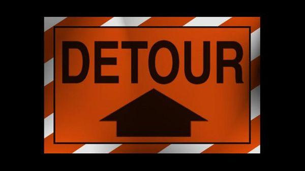 Detour Alert