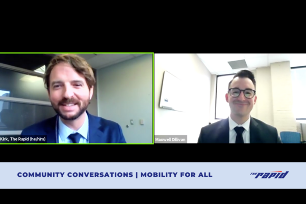 Community Conversations - Mobility For All Live Screencap
