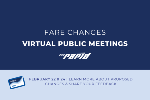 Fare Change Public Meetings - Website Article