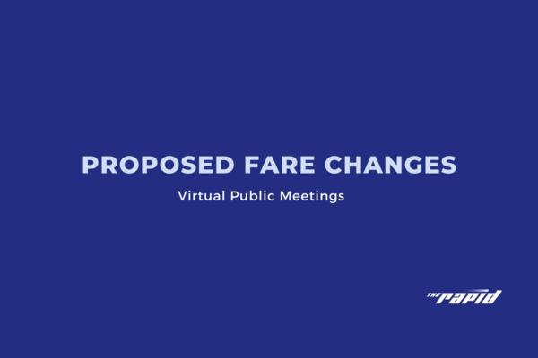 Proposed Fare Changes Recap Graphic
