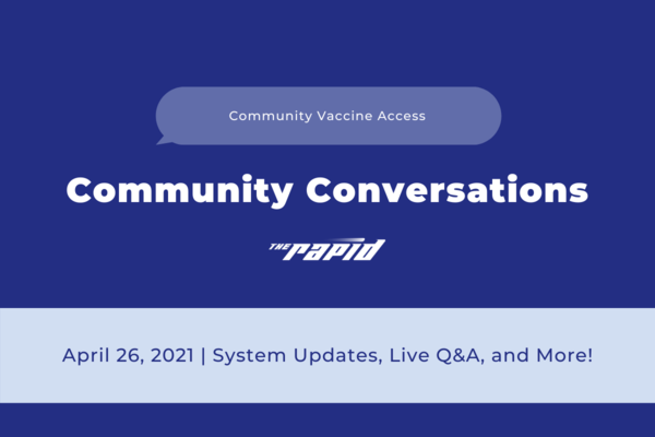 Community Conversations -Vaccine Access Banner