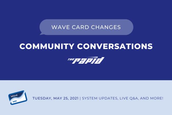 Community Conversations - Wave Changes Live Banner