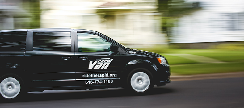 Rapid Van for Rideshare Car & Van Pooling