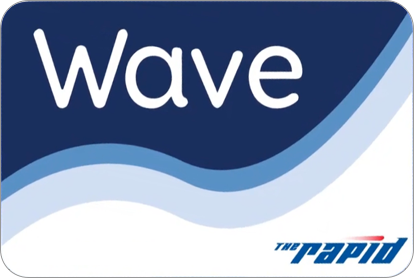 Rapid Wave smart card