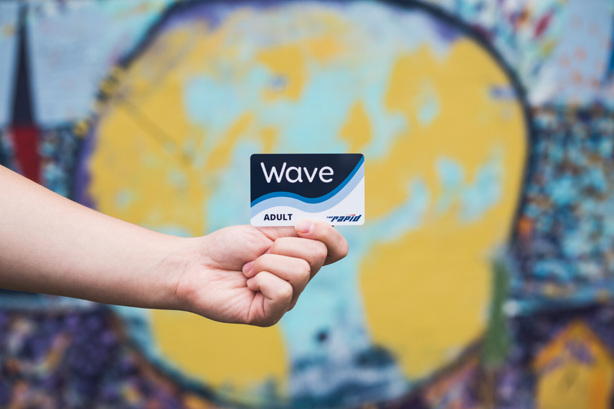 Wave Card by mural
