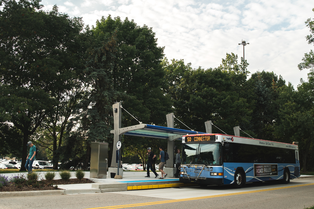 Route 50 Laker Line Station