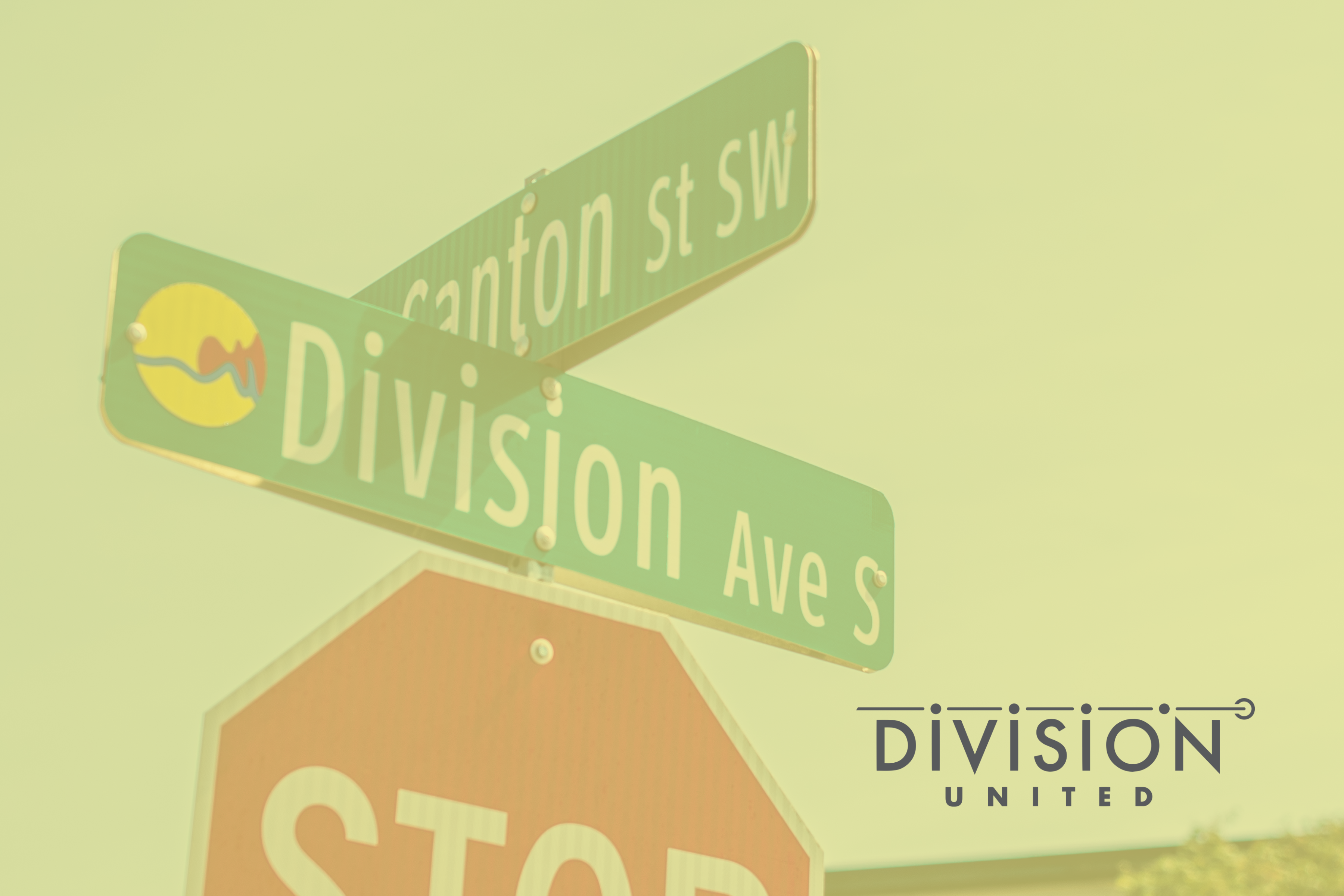 Division United Street Signs