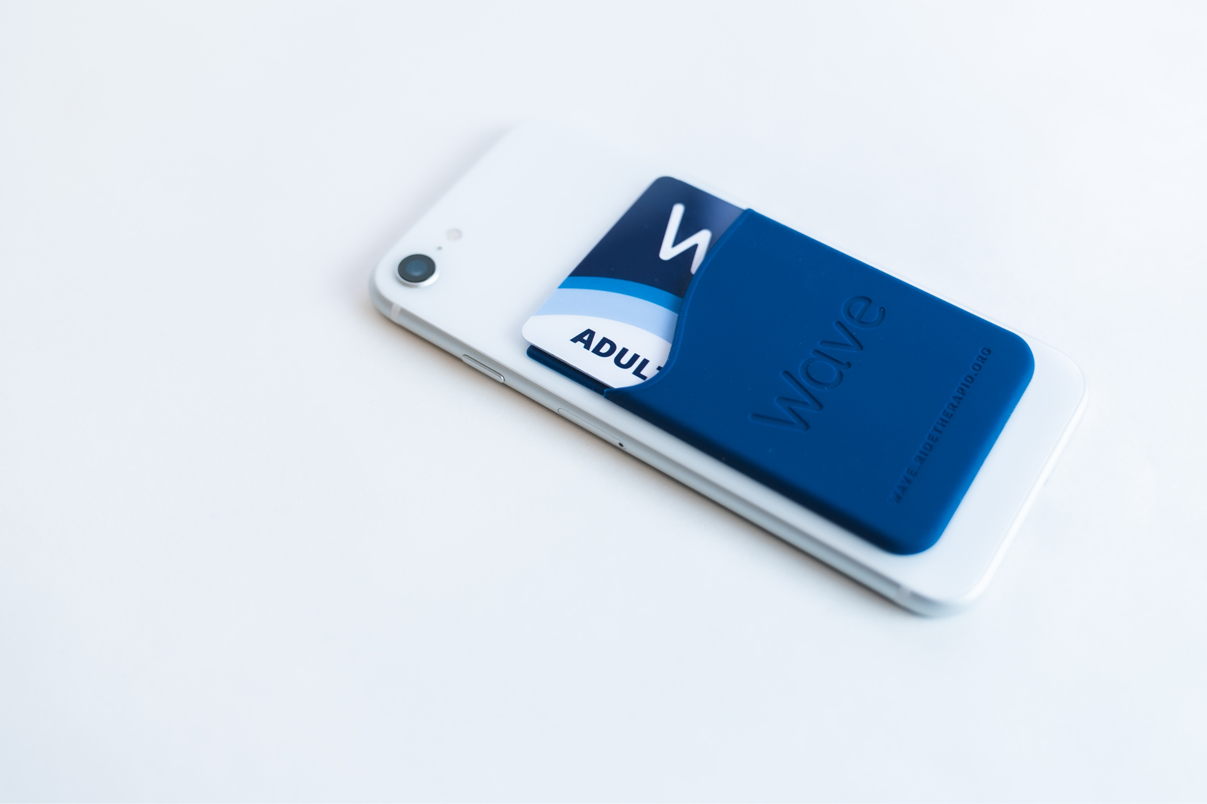 Wave Smartphone Card Holder