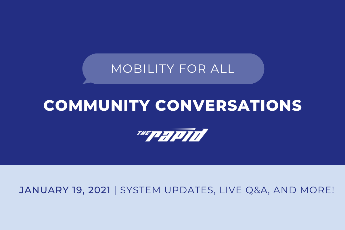 Community Conversations - Mobility For All Live Banner
