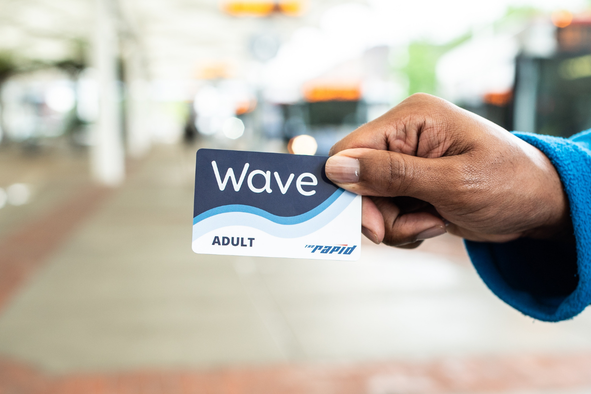 Wave Card in Hand