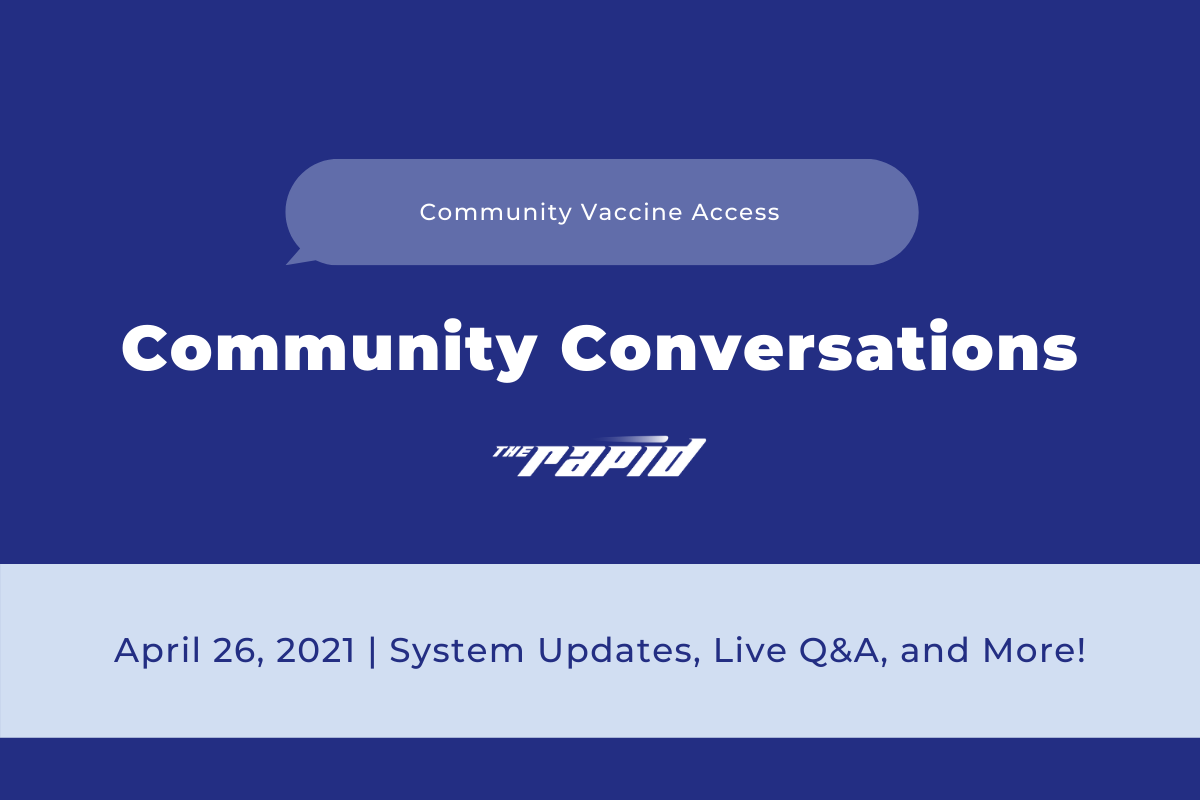 Community Conversations -Vaccine Access Banner