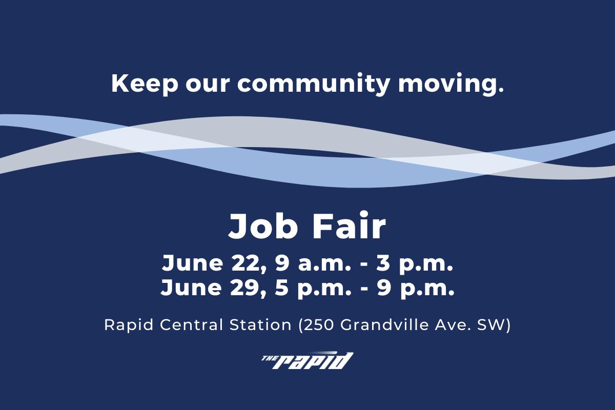 Job Fair - June 22 & 29