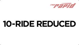 Reduced Fare 10-Ride Card
