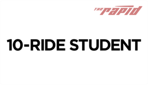 Student 10-Ride Card